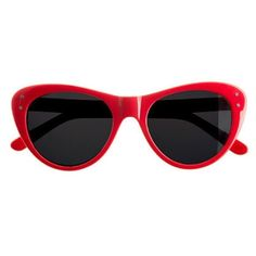 """Selima Sun for JCrew sunglasses in RED These adorable cat eye style red sunglasses are in perfect condition. No scratches or signs of wear.  They do not come with the original case (which is why the condition was marked as """"good"""") but I will include a Armani Exchange case that's not pictured when they are shipped.  They sold out very quickly.   This particular color was by far the favorite of bloggers.    Style: SOPHIA  Price: $128 J. Crew Accessories Glasses"""