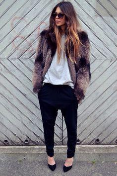 Maja Wyh ~streetstyle ~stylish.