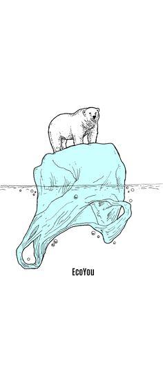 Bis zum Jahr 2050 könnten 30% der Eisbären Population ausgestorben sein.  Auch die enorme Müllproblematik die unsere Umwelt auf den Kopf stellt ist Schuld daran.  Forscher konnten bereits am Nord und Südpol Plastikteilchen im Wasser finden.   Lasst uns gemeinsam auf Plastik verzichten.     Wie lange wird es Eisbären noch geben? Hier erfährst du 84 Tipps für dein plastikfreies Leben   #Plastikfrei #ZeroWaste #Eisbär