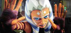 Ahsoka using the Force