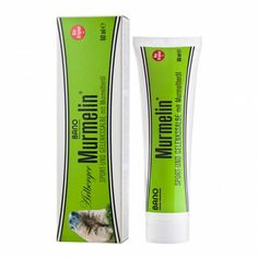 Murmelin Sport- und Gelenkssalbe 60 ml White Out, Sports, Muscle Pain, Sport