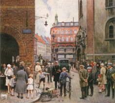 Paul Gustave Fischer. The Bike Accident. I love this