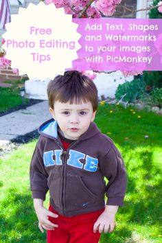 PicMonkey Tutorial on Watermarking and adding shapes to your images:)