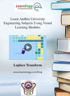 You can now visually and easily learn complex Engineering topics of Andhra University using LearnEngg visual modules.   Here is a sample video of 'Laplace Transform'   For more visual modules, visit our website: [Click on image]   #learnengg #engineering #andhrauniversity
