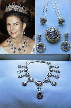 The Leuchtenberg sapphires Parure of Swedish Royal Family is another marked jewel in history. It once belonged to Napoleon Bonaparte and since given to Josephine as a wedding gift remained a part of Swedish Royal Jewels..