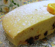 Gâteau à l'orange, aux amandes et aux cranberries sans gluten et sans lactose
