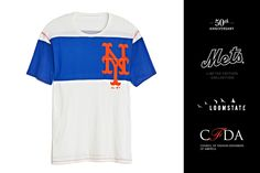 @Loomstate 321 for CFDA x NY Mets.    Available on Edition01.com