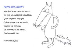 Comptine : peur du loup ? Education And Literacy, Wolf, French Class, Chant, Teaching French, Songs To Sing, Little Pigs, Play To Learn, French Language