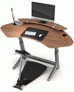 Стильный комплект из стола и стула для правильной осанки от компании Focal