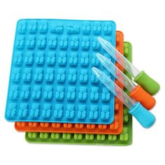 12 Round Silicone Lollipop Mould Tray Chocolate Lollypop Candy Mold Sticks RF
