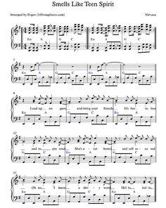 Smells Like Teen Spirit - Nirvana free sheet music