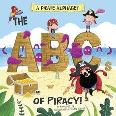 Take young pirate fans on an alphabet adventure! They'll love learning about gangways and quartermasters while practicing their pirate lingo. Whimsical illustrations and melodic text create an arrr-esistable early-learning experience. Craft Activities, Preschool Crafts, Popular Kids Books, Eve Bunting, Movie Crafts, Book Authors, Early Learning, Reading Online