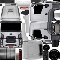 Grande, Trucks, Kid, Vehicles, Model Building, Wooden Truck, Activity Toys, Paper, Contours