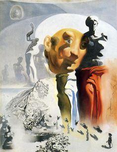 Salvador Dali, The Face, 1968-70, Gala-Salvador Dali Foundation, Figueras, Spain