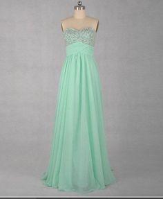 Mint prom dress-This is my Prom Dress I am getting!