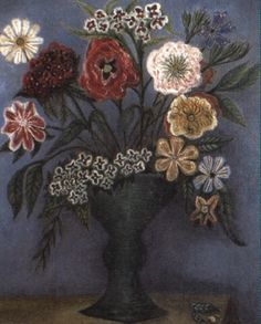 Flowers by Cecil Collins