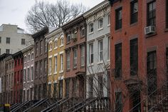 NYC - Brick building by MichelleLynsey, via Flickr