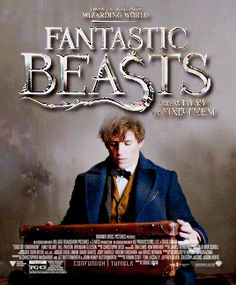 Fantastic Beasts and Where to Find them - Newt Scamander gif