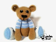 Crochet bear Vojta :)