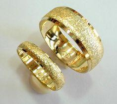 16 Wedding bands set gold wedding rings for men and women  14k  gold.  http://www.etsy.com/listing/85781353/wedding-bands-set-gold-wedding-rings-for