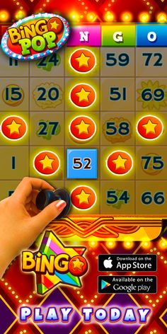 Love Bingo? You must play this game! Escape into the world of Bingo Pop: free award-winning classic bingo game mixed with Fast-Paced action, Collection Events, HUGE Jackpots & more!