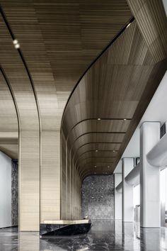 Yangzhou, Tokyo Shopping, Office Lobby, Lobby Lounge, Interior Design Awards, Photo Gold, Royal Garden, Resort Villa, Home Libraries