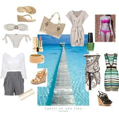 Thailand Holiday Packing List, created by glam-net on Polyvore