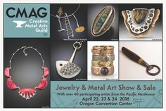Metal Jewelry, Metal Art, Portland, Bronze, Gemstones, Creative, Silver, Gold, Handmade