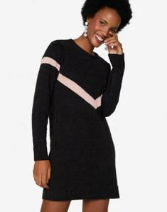 Moda Online, Cold Shoulder Dress, High Neck Dress, Sweaters, Dresses, Fashion, Winter Fashion Looks, Women's Clothes, Vestidos
