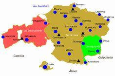 Señorío de Vizcaya - Lordship of Biscay - Wikipedia Guernica, Bilbao, Spain History, Maps, Empire, Europe, Historia