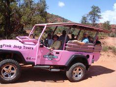 Pink Jeep Tours. Sedona Arizona, by Ina T --- sooo fun!!.......I want to do this the next time we go to Sedona