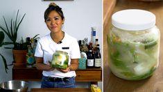 White Kimchi (Baek Kimchi) Recipe on Food52, a recipe on Food52 White Kimchi Recipe, Veggie Recipes, Asian Recipes, Ethnic Recipes, Sweet Carrot, Napa Cabbage, Chinese Cabbage
