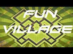 Fun village Clash of clans!!