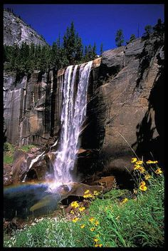 Vernal Fall, Yosemite National Park..USA