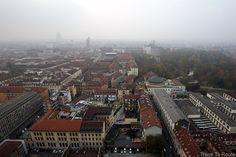 Vue ouest sommet flèche Mole Antonelliana Musée du Cinéma de Turin - Museo Nazionale del Cinema Torino : Palazzo Carignano, Palazzo Reale et Giardini Reale