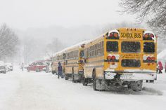 How Do Schools Decide When To Close In Bad Weather? | Vermont ...