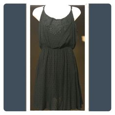 The Little Black Dress Spaghetti strap dress great for the up coming spring season. Rewind Dresses