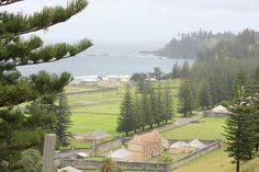View of Norfolk island's penal settlement, amazing island, natural beauty, tortuous convict history and Mutiny on the Bounty descendants all rolled into one.