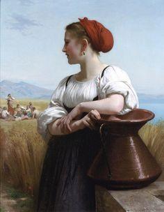 Moissonneuse -William Bouguereau  1868.