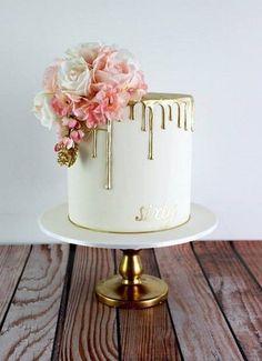 64 Yummy And Trendy Drip Wedding Cakes   HappyWedd.com #PinoftheDay #Yummy #Trendy #Drip #WeddingCakes