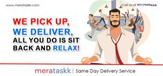 Same day delivery in Delhi NCR Parcel Delivery, Delivery Man, New Week, New Day, Pickup And Delivery Service, Relax, Meme, Packaging, Calm