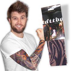 Need Jokes? - Fake Tattoo Sleeves