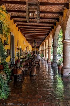 The siam hotel landscape architect and interior designer for Piani casa adobe hacienda