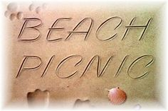 Romantic picnic on the beach with just my special husband and myself. Romantic Picnics, I Love The Beach, Title Card, Picnic Time, Beach Picnic, Three Words, Summer Time, Place Card Holders, Lunch