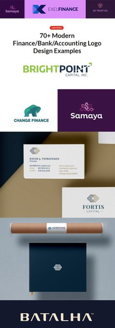 70+ Modern Finance/Bank/Accounting Logo Design Examples