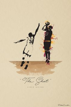 It's game 7 of the NBA finals...tied game, 89-89...clock winding down...Kyrie Irving pulls up to the 3 point line and hits one of the most clutch, and crucial 3 pointers of this whole NBA seaso...