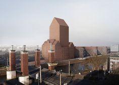 Duisburg, Germany Landesarchiv NRW Ortner & Ortner Baukunst