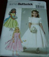 Flower+Girl+Dress+Patterns+McCall's   McCall's 2588 Girls' Party Pageant Flowergirl Dress Pattern Sz CC- 2 3 ...