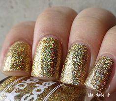 Digital Nails Solar Flare