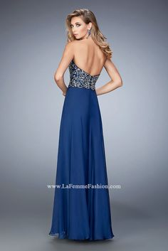 Look red-carpet-ready in Gigi Prom Style 22420 available at WhatchamaCallit Boutique
